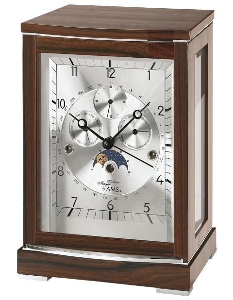 Stolní mechanické hodiny 2171/1 AMS 29cm + prodloužená záruka 3 roky