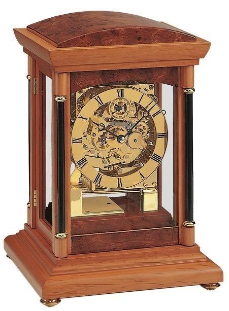 Stolní mechanické hodiny 2187/9 AMS 31cm + prodloužená záruka 3 roky