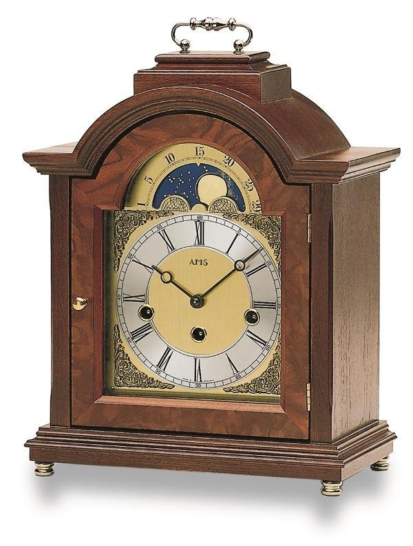 Stolní mechanické hodiny 2195/1 AMS 30cm + prodloužená záruka 3 roky