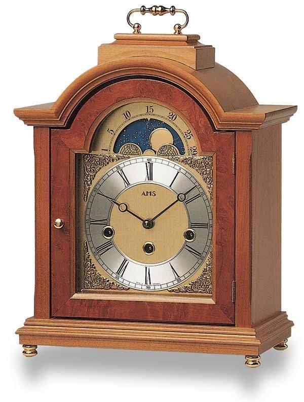 Stolní mechanické hodiny 2195/9 AMS 30cm + prodloužená záruka 3 roky