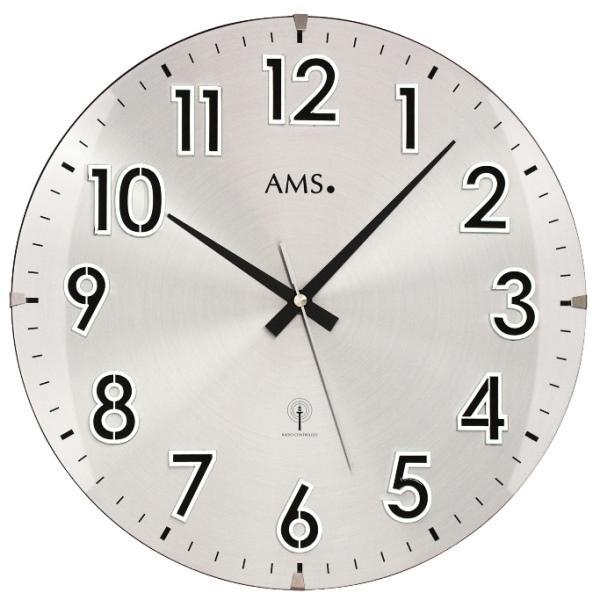 Nástěnné hodiny 5973 AMS řízené rádiovým signálem 32cm + prodloužená záruka 3 roky