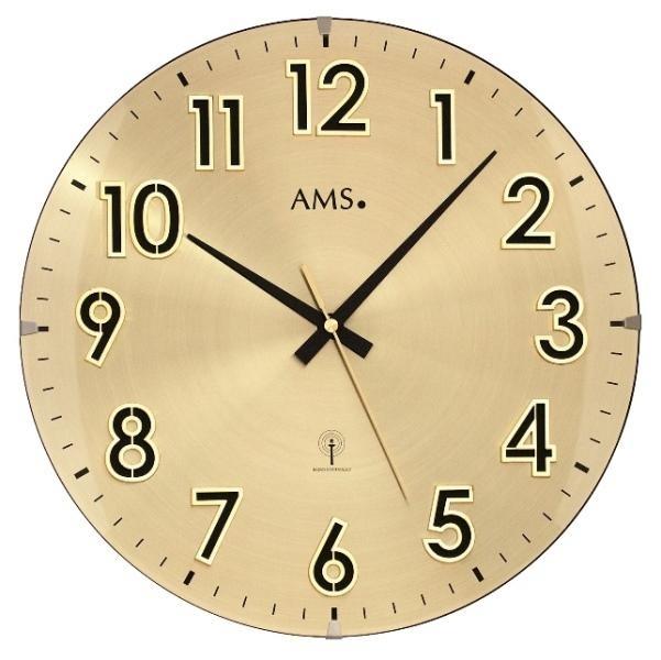 Nástěnné hodiny 5974 AMS řízené rádiovým signálem 32cm + prodloužená záruka 3 roky
