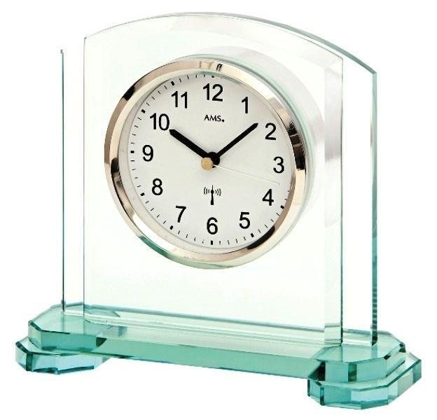 Stolní hodiny 5148 AMS řízené rádiovým signálem 18cm + prodloužená záruka 3 roky