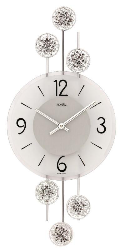 Hodiny a budíky - Designové nástěnné hodiny 9440 AMS 47cm