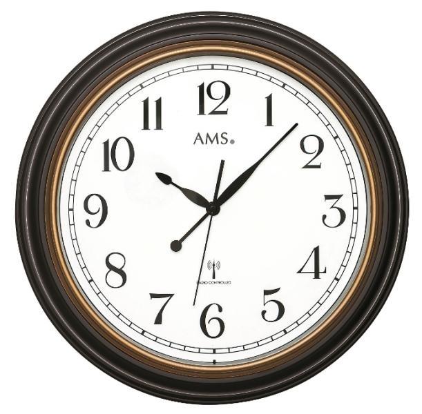 Nástěnné hodiny 5978 AMS řízené rádiovým signálem 45cm + prodloužená záruka 3 roky