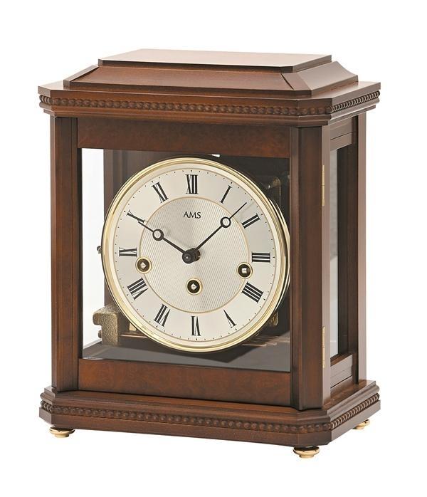 Stolní mechanické hodiny 2196/1 AMS 29cm + prodloužená záruka 3 roky