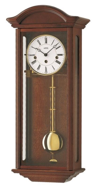 Kyvadlové mechanické nástěnné hodiny 2606/1 AMS 64cm + prodloužená záruka 3 roky