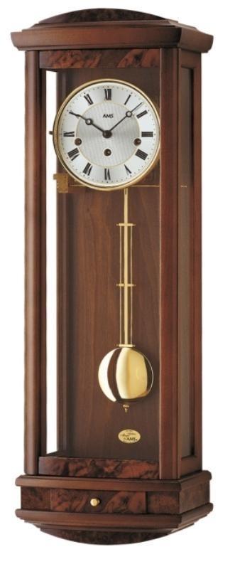 Kyvadlové mechanické nástěnné hodiny 2607/1 AMS 65cm + prodloužená záruka 3 roky