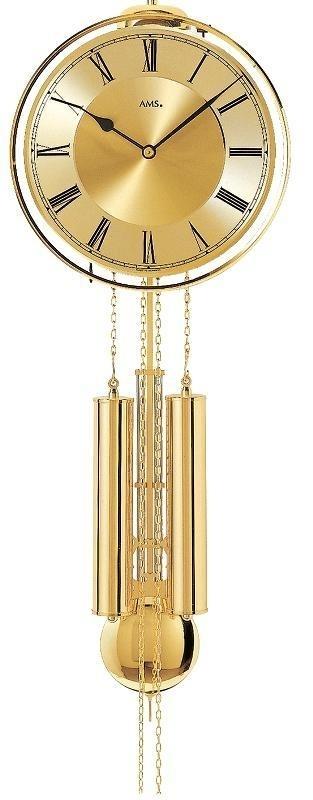 Kyvadlové mechanické nástěnné hodiny 356 AMS + prodloužená záruka 3 roky