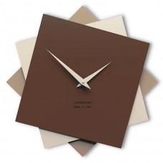 Designové hodiny 10-030 CalleaDesign Foy 35cm (více barevných verzí) Barva žlutý meloun-62 - RAL1028
