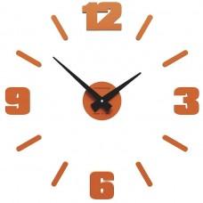 Designové hodiny 10-304 CalleaDesign Michelangelo S 50cm (více barevných verzí) Barva fuchsiová (starorůžová)-72 - RAL4010