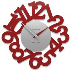 Designové hodiny 10-009 CalleaDesign Mat 33cm (více barevných verzí) Barva tmavě zelená klasik-77 - RAL6004