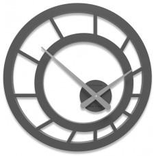 Designové hodiny 10-117 CalleaDesign Icarus 45cm (více barevných verzí) Barva antracitová černá-4