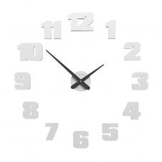 Designové hodiny 10-308 CalleaDesign 65cm (více barev) Barva grafitová (tmavě šedá)-3 - RAL9007