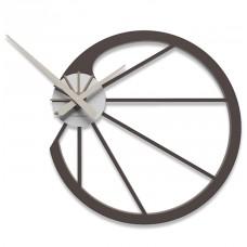 Designové hodiny 10-118 CalleaDesign Snail 45cm (více barevných verzí) Barva tmavě modrá klasik-75 - RAL5017