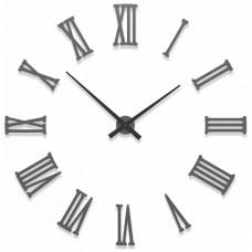 Designové hodiny 10-310 CalleaDesign 124cm (více barev) Barva tmavě modrá klasik-75 - RAL5017