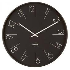 Designové nástěnné hodiny 5607BK Karlsson 40cm