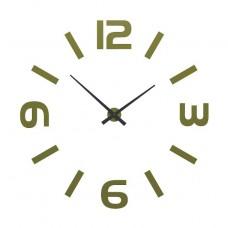 Designové hodiny 10-315 CalleaDesign (více barev) Barva žlutá klasik-61 - RAL1018