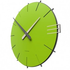 Designové hodiny 10-019 CalleaDesign Mike 42cm (více barevných verzí) Barva zelené jablko-76