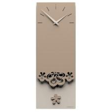Designové hodiny 56-11-1 CalleaDesign Merletto Pendulum 59cm (více barevných verzí) Barva antracitová černá-4