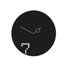 """Designové nástěnné hodiny Diamantini a Domeniconi Seven 40cm D&D barvy kov starorůžový """"fuchsia - magenta"""" lak"""