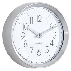 Designové nástěnné hodiny 5637WH Karlsson 22cm