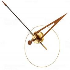 Designové nástěnné hodiny Nomon Cris Gold 70cm