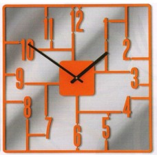 Designové hodiny D&D 270 Meridiana 41cm Meridiana barvy kov červený lak
