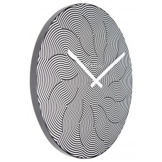 Designové nástěnné hodiny 3132 Nextime Waves 39cm