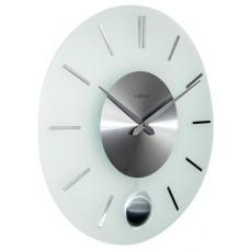 Designové nástěnné hodiny 3145 Nextime Stripe Pendulum 40cm