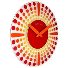 Designové nástěnné hodiny 8182ro Nextime Dreamtime 43cm