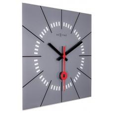 Designové nástěnné hodiny 8636gs Nextime Stazione 35cm