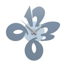 Designové hodiny 10-104 CalleaDesign 50cm (více barev) Barva černá klasik-5 - RAL9017