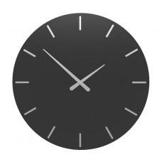 Designové hodiny 10-203 CalleaDesign 60cm (více barev) Barva černá klasik-5 - RAL9017