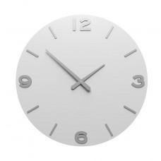 Designové hodiny 10-204 CalleaDesign 60cm (více barev) Barva černá klasik-5 - RAL9017
