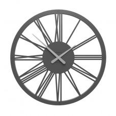 Designové hodiny 10-207 CalleaDesign 60cm (více barev) Barva tmavě modrá klasik-75 - RAL5017